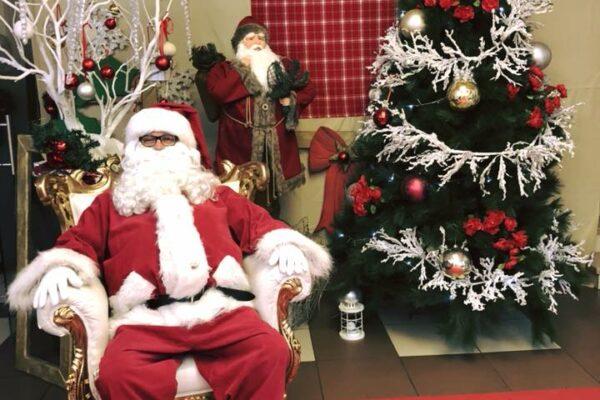 Sopro Festivo - Mascote - Pai Natal