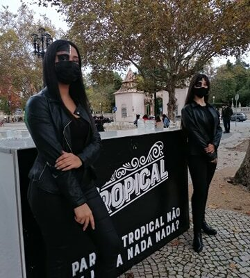Sopro Festivo - Promotores Halloween - Tropical bar